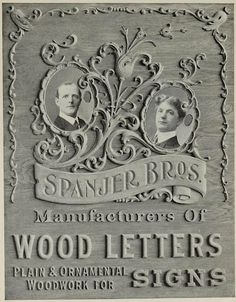 wood letters for signage