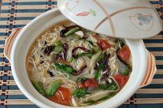 Chinese New Year Longevity Noodles: Misua Soup