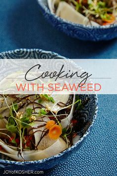 Here are some healthy recipes on how to cook with seaweed and it's health benefits.