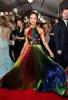 OMG Tessa Thompson's Gown Is Easily The Most Stunning Part Of The Emmys