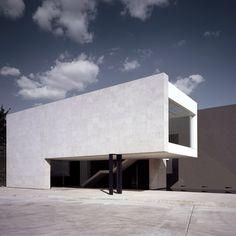 This textile warehouse and office building was completed by Mexican architects DCPP Arquitectos in 2009.