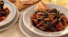 Spanish Chorizo and Mussel Stew Recipe by Jamie Purviance