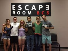 This group was caught in Dr. Andrews' lab!