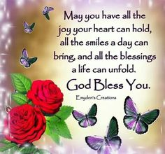 God Bless All Of You !