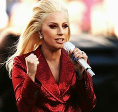 Lady Gaga (The Star-Spangled Banner Super Bowl 50)