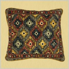 Chile, Needlepoint, Lana, Cross Stitch, Carpet, Throw Pillows, My Favorite Things, Sewing, Ethnic