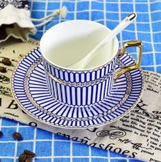 CH0320 Bone China Ceramic Coffee Cup and Saucer Set tea Cup | Home & Garden, Kitchen, Dining & Bar, Dinnerware & Serving Dishes | eBay!