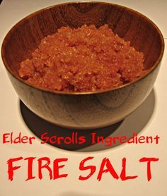 Picture of Spicy Edible Fire Salts (Skyrim)