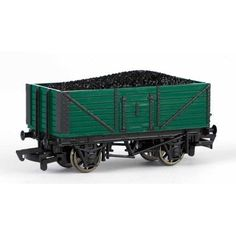 Bachmann Trains Thomas and Friends Coal Wagon with Load, HO Scale Train, Green