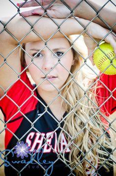 Senior girl softball, baseball, sports, Swadley Studio - martinsburg wv senior portrait photographer