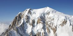 The Mont-Blanc - south-east face (italian side)