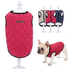 Warm Winter Vest for French Bulldog