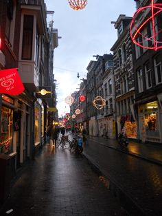 Red Lights District, Amsterdam, Holland