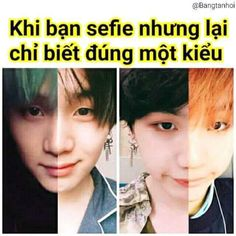 ảnh chế về BTS, KPop và nhiều thứ linh tinh khác , nên mong mọi người… #hàihước # Hài Hước # amreading # books # wattpad Jung So Min, Min Yoongi Bts, Min Suga, Bts Pictures, Funny Photos, Bts Memes, Suga Funny, Bts Funny Moments, Bts Group