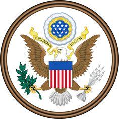 ファイル:Great Seal of the United States (obverse).svg
