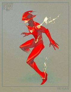 The Flash by Kenneth Rocafort *