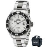 Invicta Men's 10498BLB Pro Diver Automatic White Dial Two Tone Stainless Steel Watch
