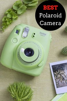 Fuji Mini 9 Camera features lens with a 60mm focal length, automatic film feed, instant developing, built-in selfie mirror, brightness adjustment dial, High-key mode, Constant firing flash, and auto power off. #camera #polaroid #instantfilm #polaroidcameras #kidscameras #adultcameras #selfies #fujifilm #bestcameras #bestpolaroidcameras #ad Instax Mini 9, Fujifilm Instax Mini, Polaroid Camera Instax, Top Tech Gifts, Cool Gifts, Best Gifts, Gifts For Techies, Technology Gifts, Best Camera