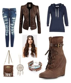 """brown.....1"" by lolandrealol ❤ liked on Polyvore"