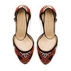High Heel Vamp Shoe by Zara