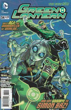 Green Lantern # 34 DC Comics The New 52! Vol. 5
