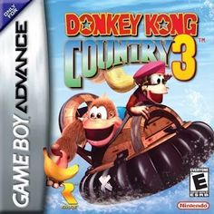 Emularoms: Donkey Kong Country 3 ( BR ) [ GBA ]