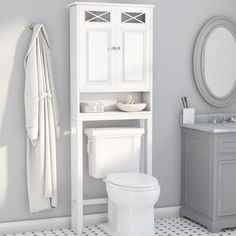 Rosecliff Heights Roberts 25 W X 68 H Over The Toilet Storage regarding size 2000 X 2000 Bathroom Over Toilet Storage Cabinets - Earlier bathroom cabinets Over Toilet Storage Cabinet, Wall Mounted Bathroom Cabinets, Cabinet Shelving, Bathroom Shelves, Storage Cabinets, Bathroom Cabinets Over Toilet, Organize Bathroom Cabinets, Unit Bathroom, Lowes Bathroom