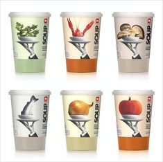 Delhaize Soup packaging design 2 20 Cool & Creative Food Packaging Design Assemblage For Inspiration
