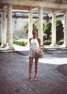 How to Wear Short-Shorts this Summer