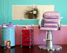 American Girl Doll Play: Doll Crafting: Make a Doll Salon for Your Dolls!