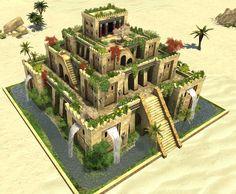 Bab. Wonder - Hanging Gardens of Babylon