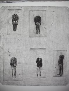 Lithuanian artist Viktorija Rumianc -  printmaking (dry point and etching)