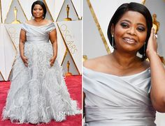 Octavia Spencer In Marchesa – 2017 Oscars