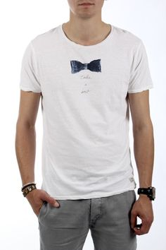 T-shirt Scotch & Soda blanc - Homme - 57€ - http://store.paia.fr/homme.html