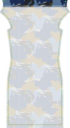 Materialen: * Jersey ( soepel vallende stof ) (Stofbreedte: 140 cm)  - 125 cm (maat 34 t/m 44) Werkbeschrijving: Het naaipa...