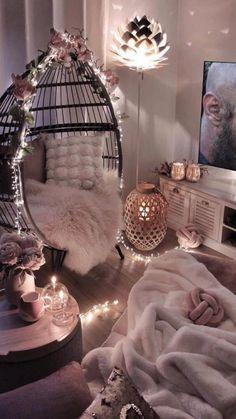 Bedroom Decor For Teen Girls, Modern Bedroom Decor, Stylish Bedroom, Contemporary Bedroom, Teen Bedroom Designs, Room Design Bedroom, Small Room Bedroom, Bedroom Ideas For Small Rooms Cozy, Bedroom Colors