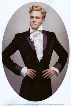Editorial: The Ultimate Dandies  Photographer: Karl Lagerfeld  Magazine: Numéro Homme