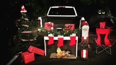 What do you mean you're still decorating your house? Decking out your trunk is where it's at this Halloween—get inspired by this insanely fun trunk or treat ideas. Halloween Carnival, Halloween Christmas, Halloween Costumes For Kids, Christmas Treats, Halloween Treats, Christmas Ornaments, Christmas Decorations, Xmas, Halloween Stuff