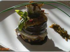 Recette Entrée : Millefeuille aux sardines marinées et caviar de salicornes par Cahier gourmand