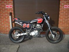 "Racing Cafè: Yamaha XT 600 ""Streetracker"" by Red Max Speed Shop"