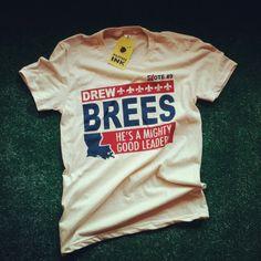 The amazing Drew Brees, Yes!