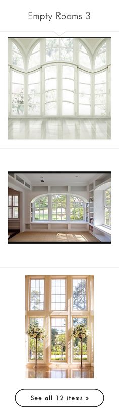 """Empty Rooms 3"" by mysfytdesigns ❤ liked on Polyvore"