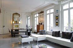 Haussmanien et parquet peint. C0068 | Mires Paris