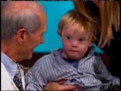 ▶ Torin Wallace 2 year old cutie pie on TV show (downs syndrome) - YouTube