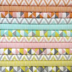 Organic Baby Bedding Chevron, Stripes, Geometric Design your own 2 piece