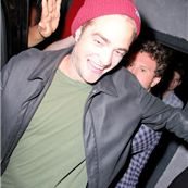 Robert Pattinson spotted leaving the Troubadour in Hollywood
