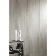 lambris pvc imitation bois bois rabot gris grosfillex 260x375cm ep 8mm 1150 - Lambris Salle De Bain Grosfillex