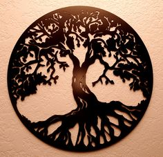 Tree of Life Metal Wall Art on Etsy, $45.00
