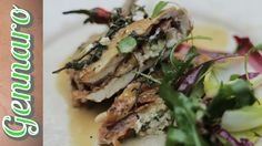Stuffed chicken with ricotta and parmesan