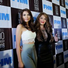 regram @whianwamos FHM's 100 Sexiest press conference with this year's sexiest in the land @senorita_jessy =)